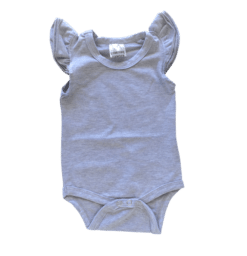 Light Frosted Grey Fluttersuit Onesie - Australia