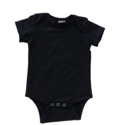 Envelope neck short sleeve black